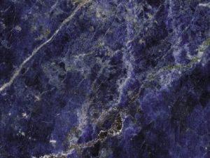 Bagno in marmo blu